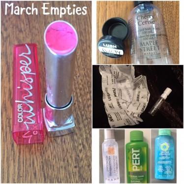 March Empties